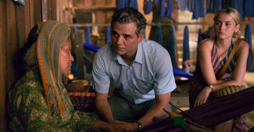 En bild på Wagner Moura, känd från Netflix-serien Narcos, som spelar huvudrollen i Sergio.