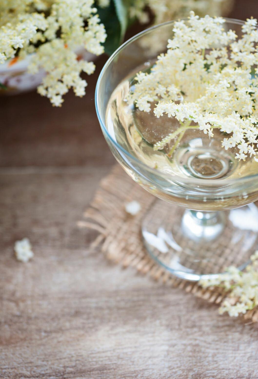 Recept på drink: Fläderbubbel