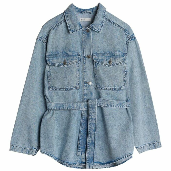 jeansjacka shacket
