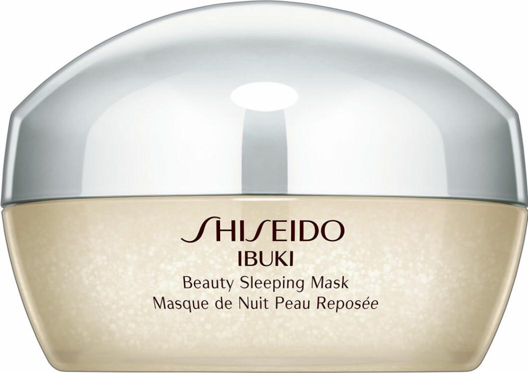 shiseido-ibuki-beauty-sleeping mask