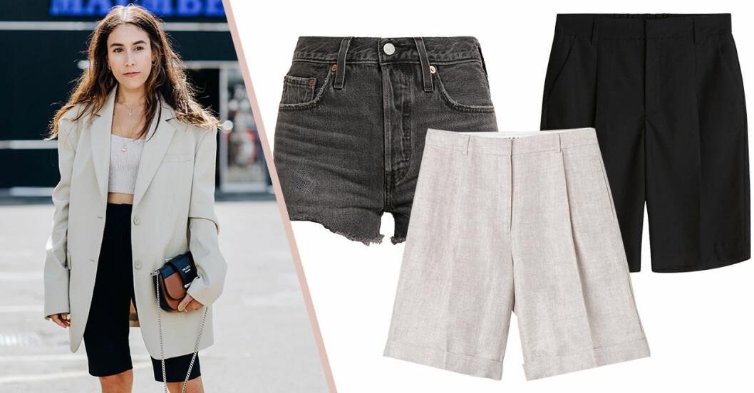 Snygga shorts för dam till sommaren 2020
