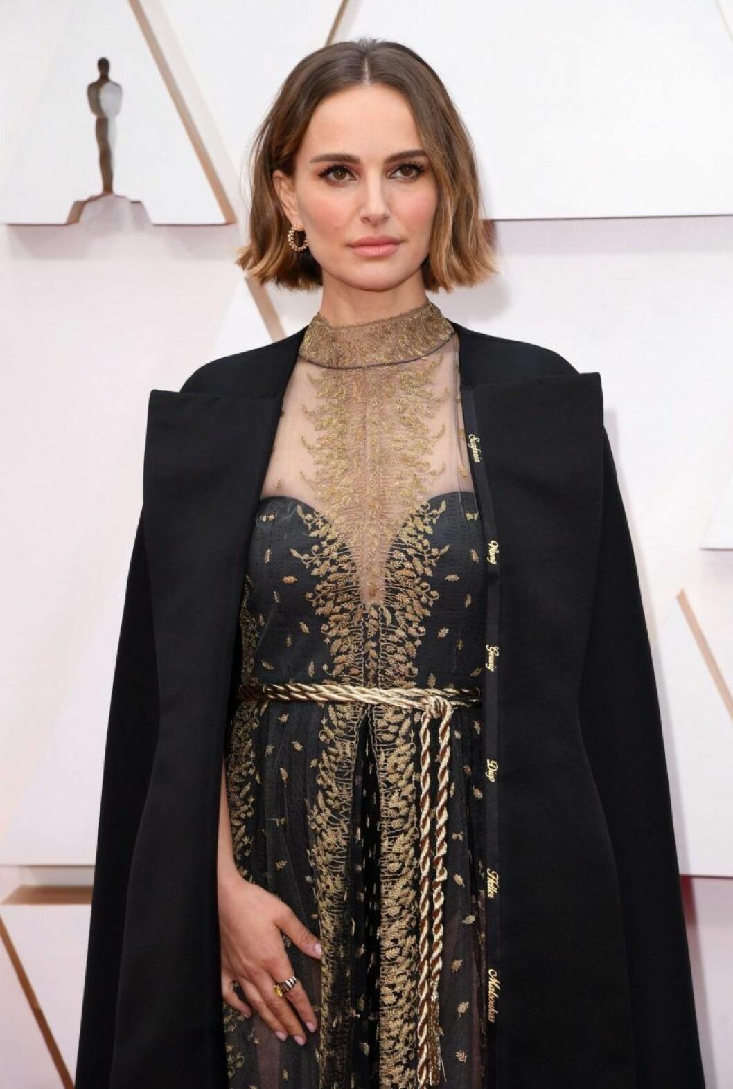 Natalie Portman på oscarsgalan