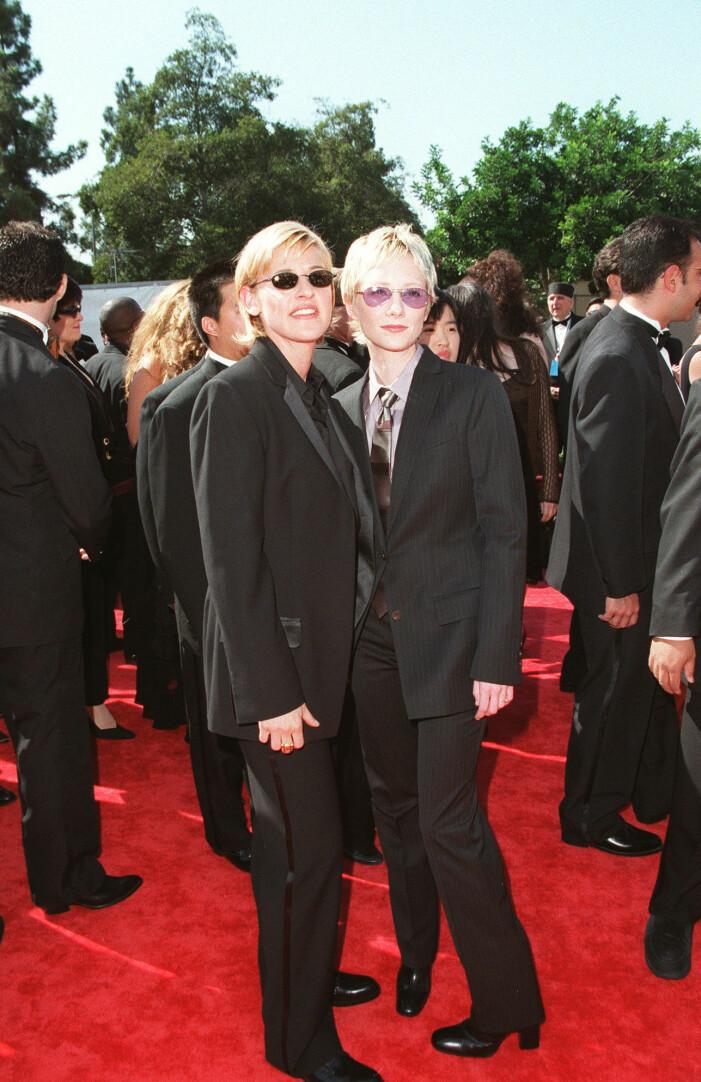 Ellen DeGeneres och Anne Heche