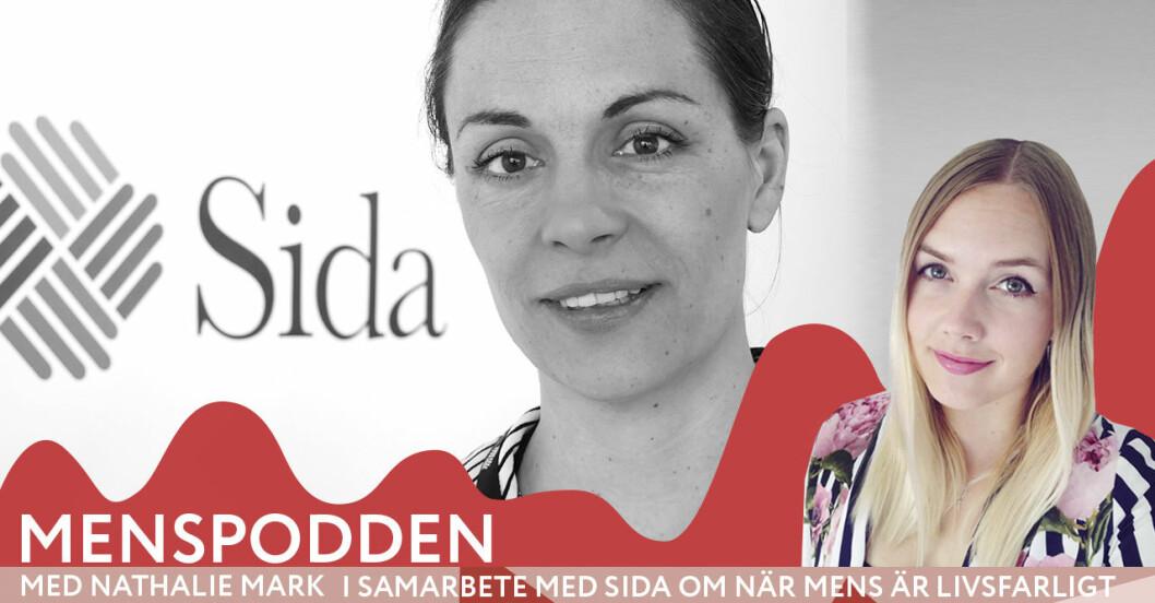 Menspodden med Nathalie Mark och Ylva Schwinn från Sida