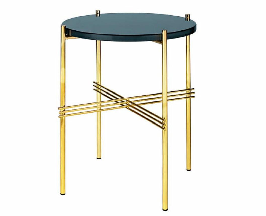 sidobord blå guld