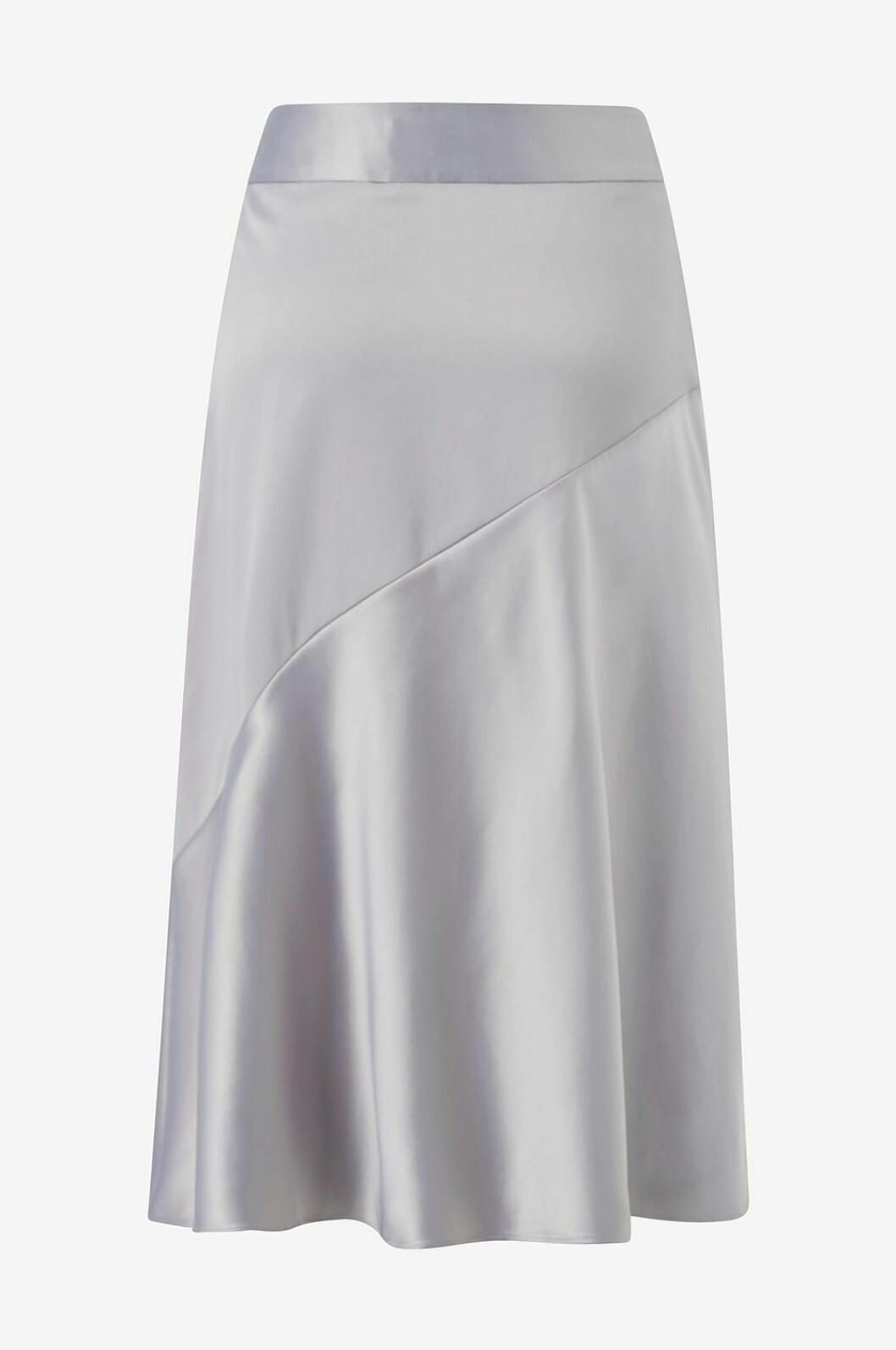 Matchande set: Silverfärgad kjol
