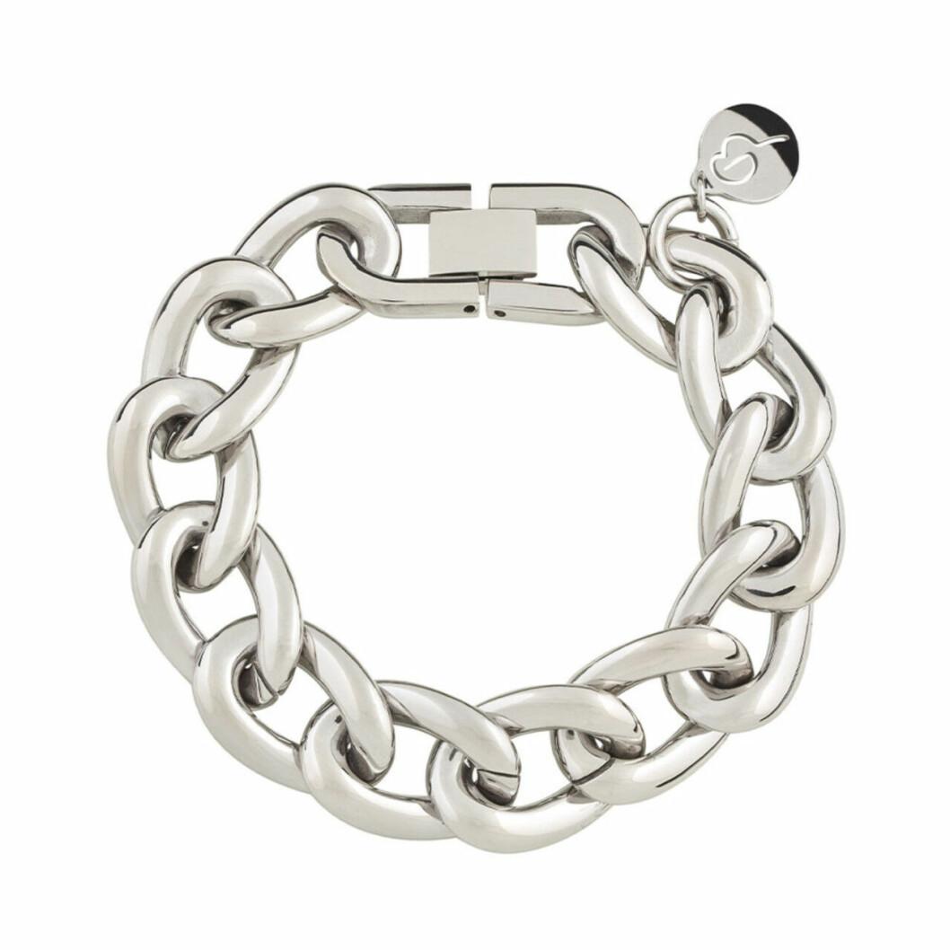 Silverfärgat armband från Edblad