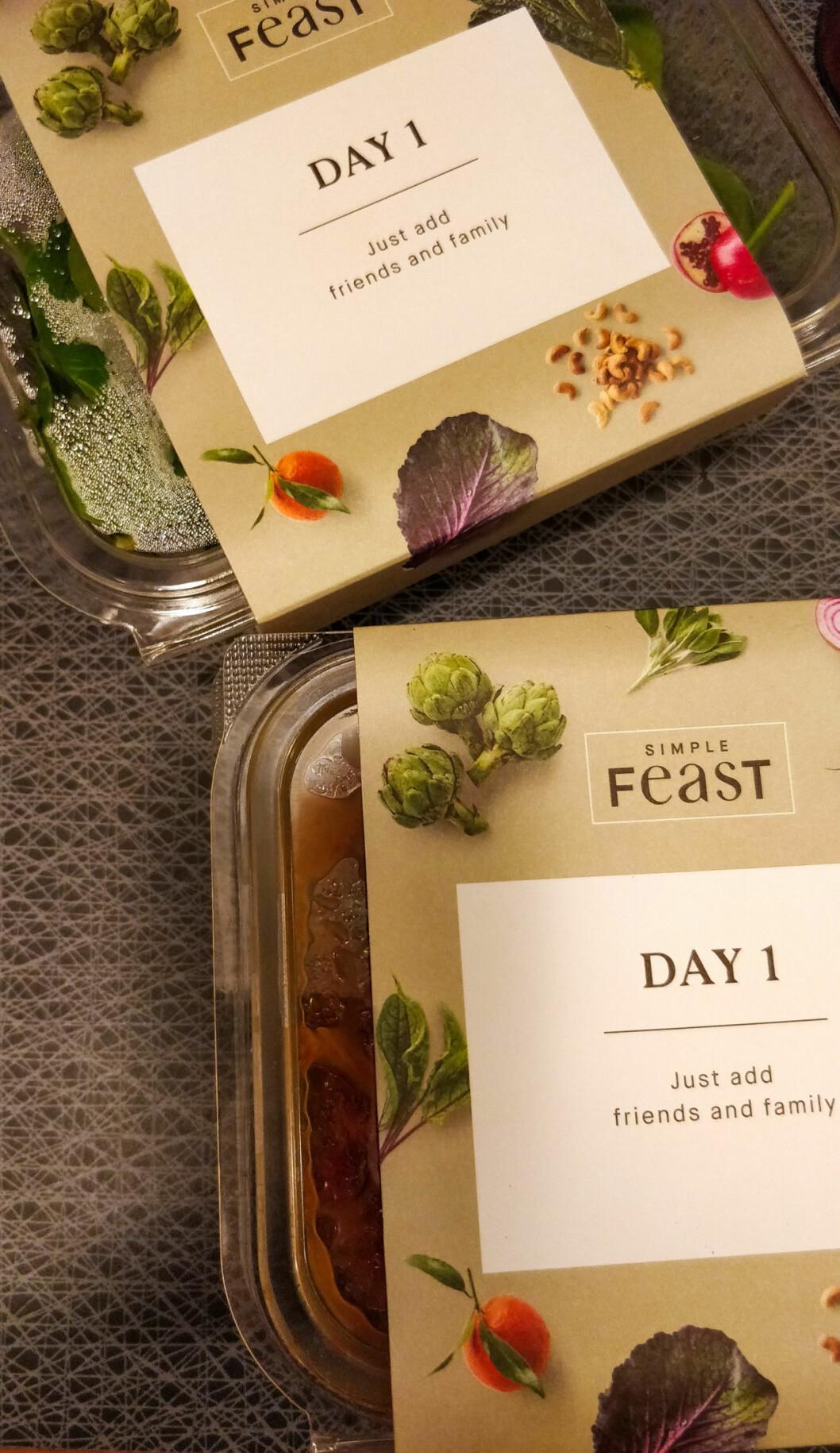 Simple Feast är en ny mattjänst som levererar vegansk och vegetarisk mat till din dörr.