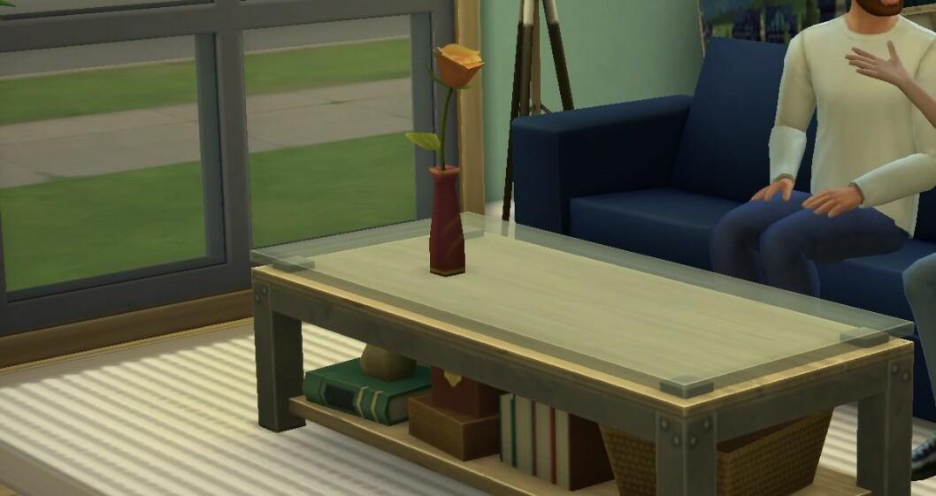 The Sims 4 blomvas
