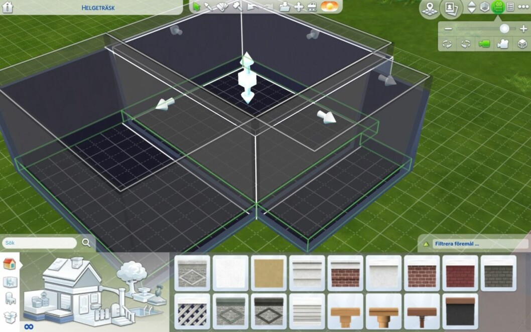 Bygga grund Sims 4