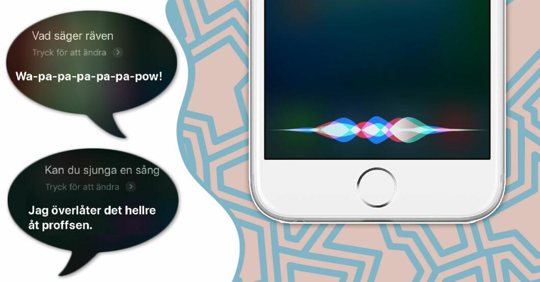 Saker du kan fråga Siri och få kul svar