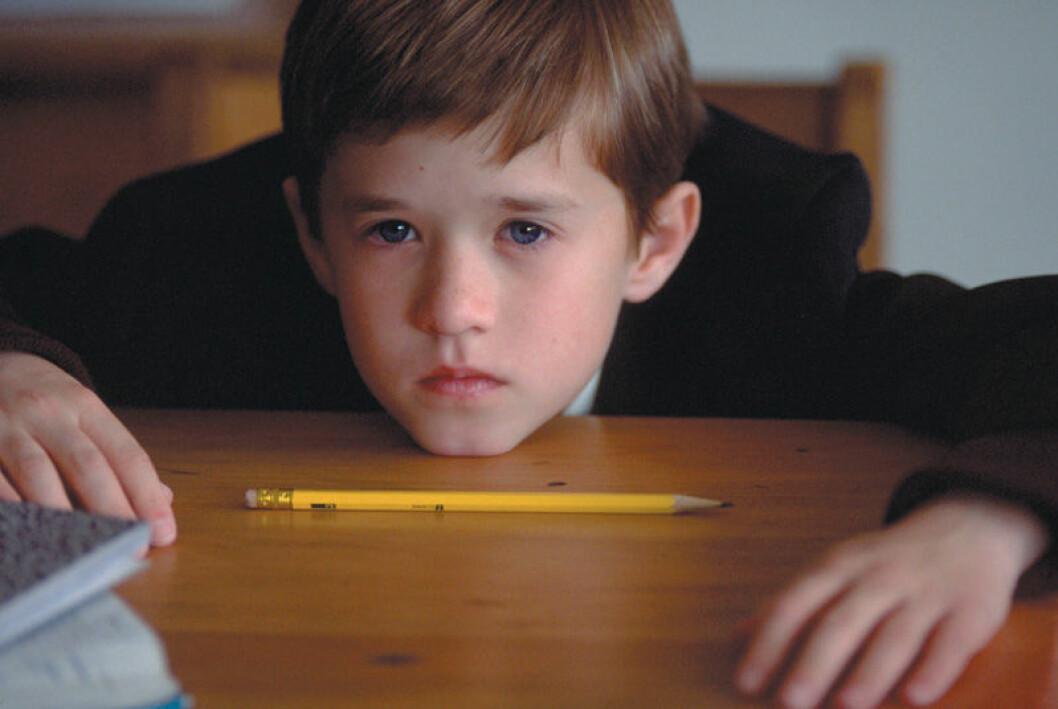 Barnskådespelaren Haley Joel Osment i Sjätte sinnet.