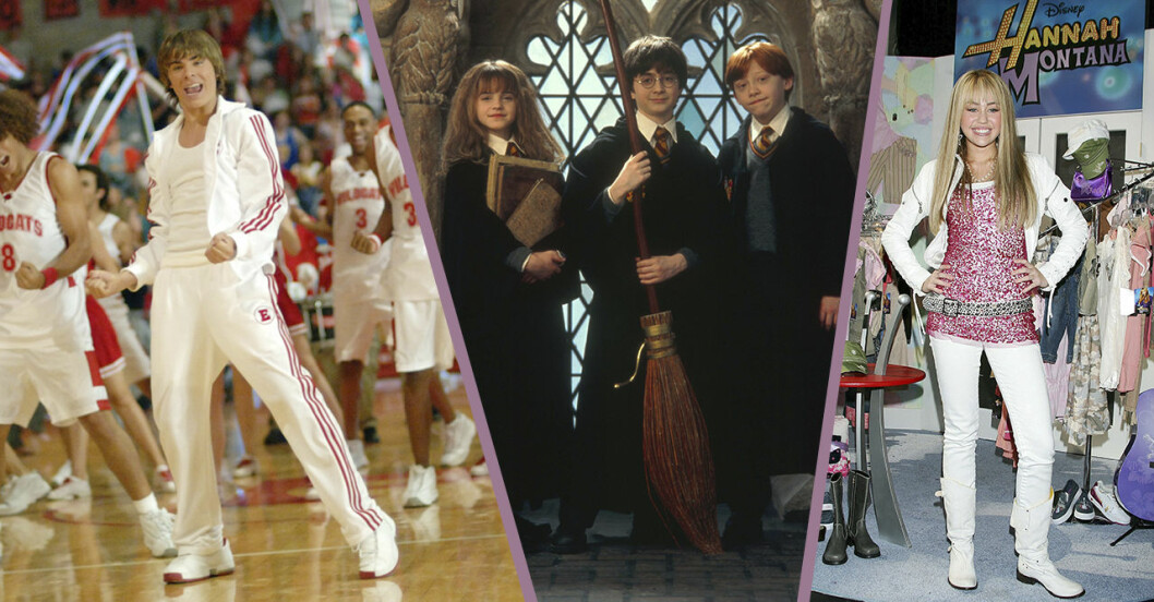 Harry Potter, troy bolton, Hannah Montana