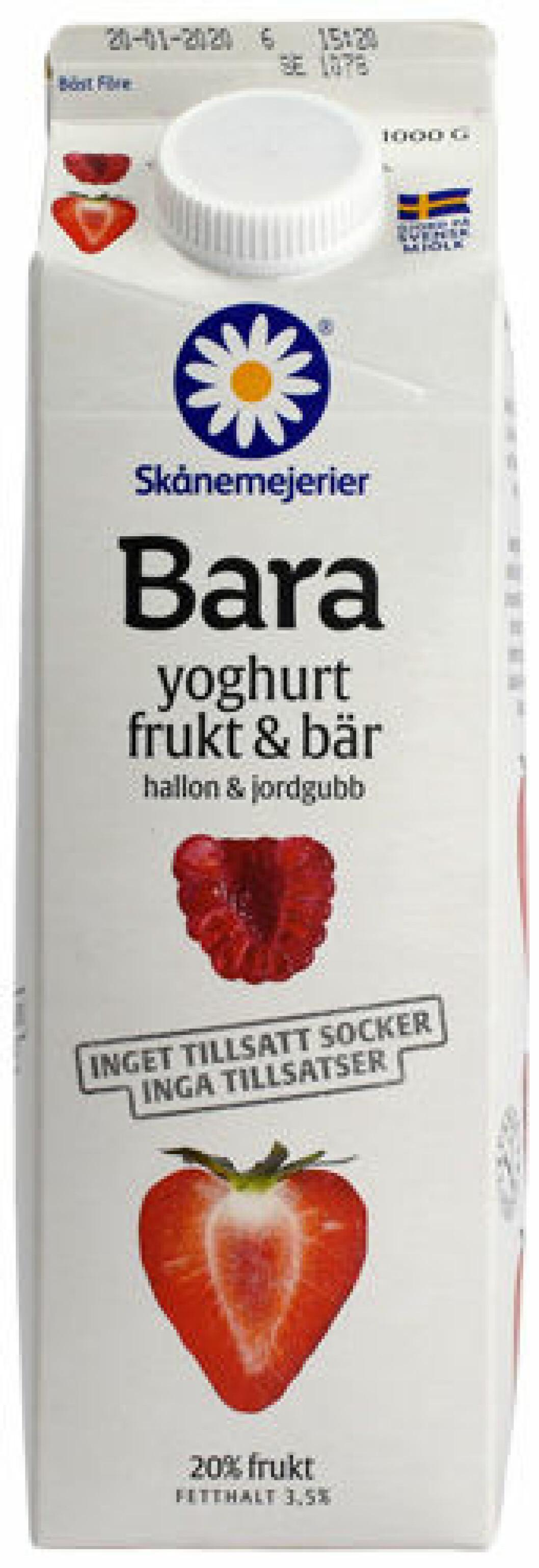 Skånemejeri yoghurt