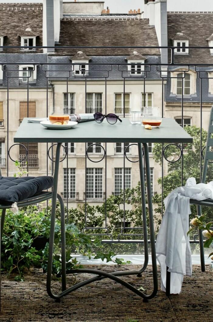 mysig fransk balkong