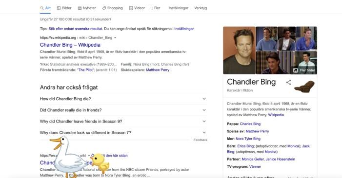 Skärmdump av google