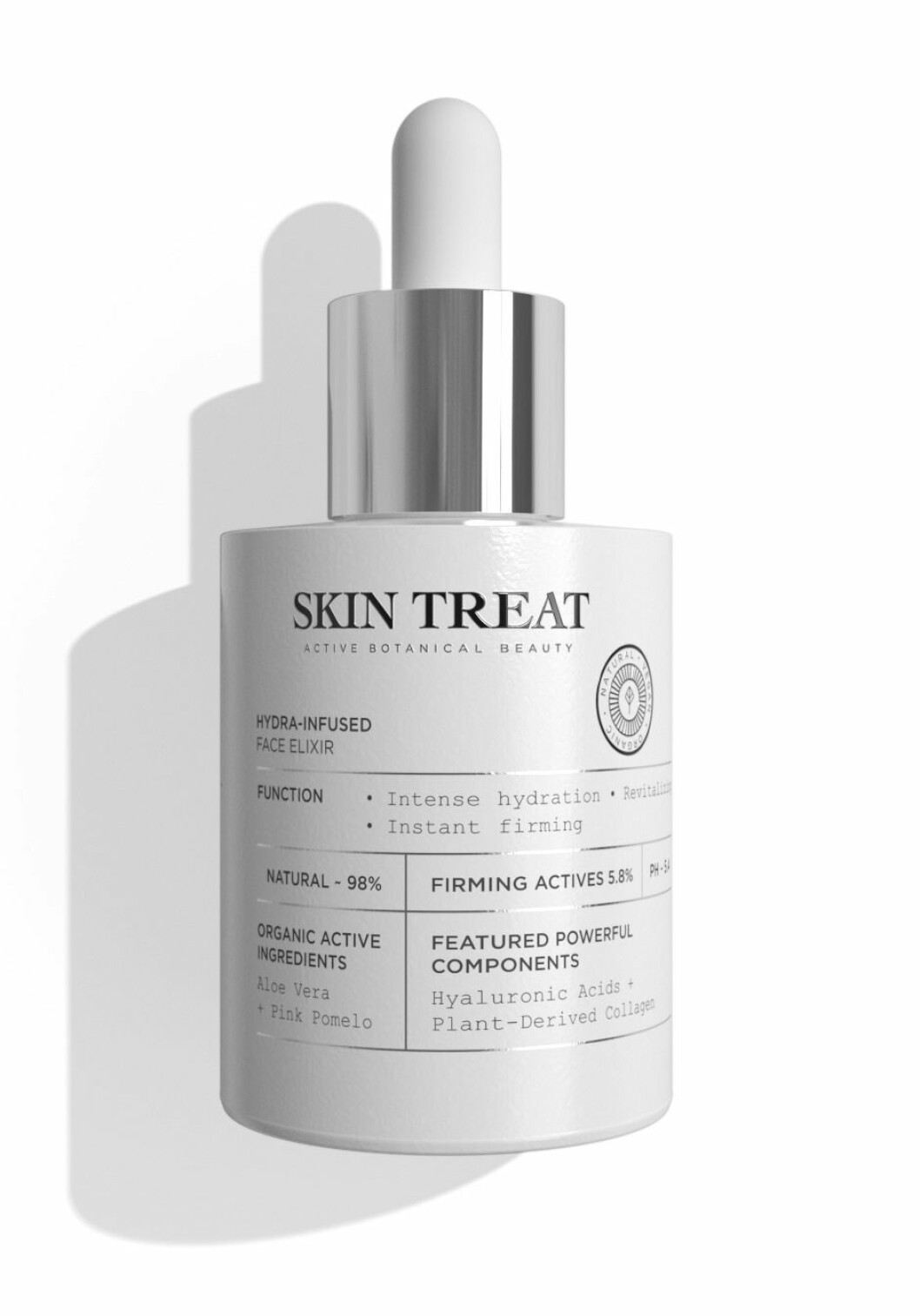 Skin treat Hydra-infused face elixir