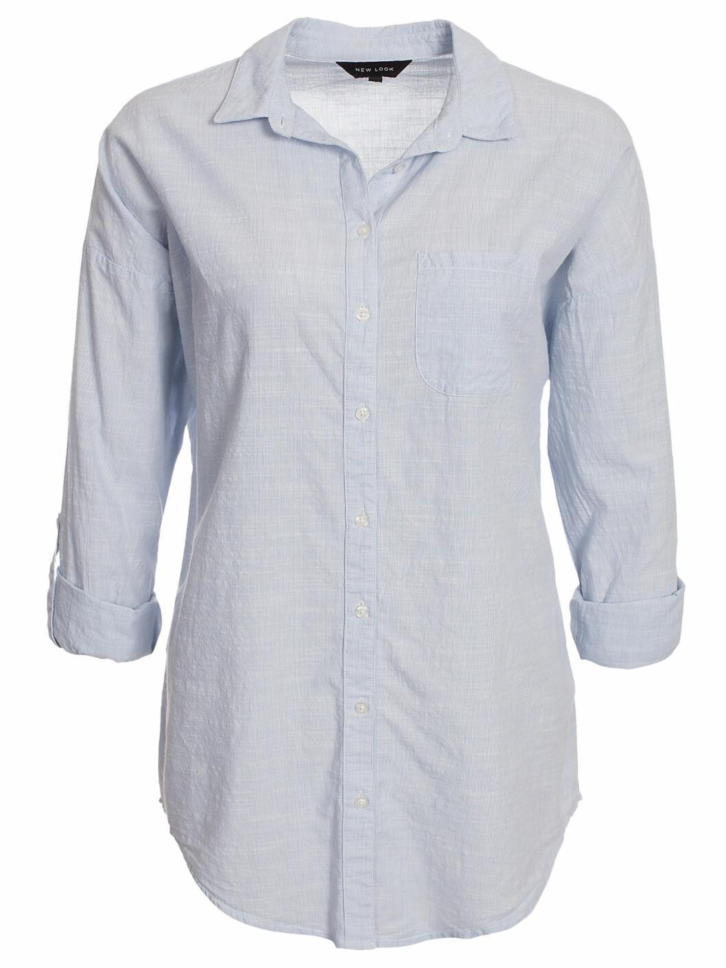 skjorta ljusblå