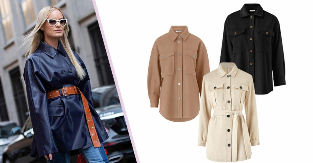 Skjortjackor shopping hösten 2020