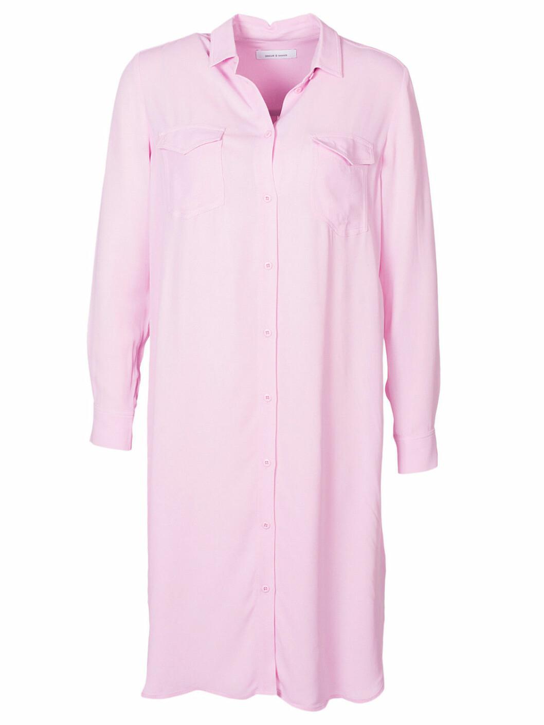 skjortklänning rosa