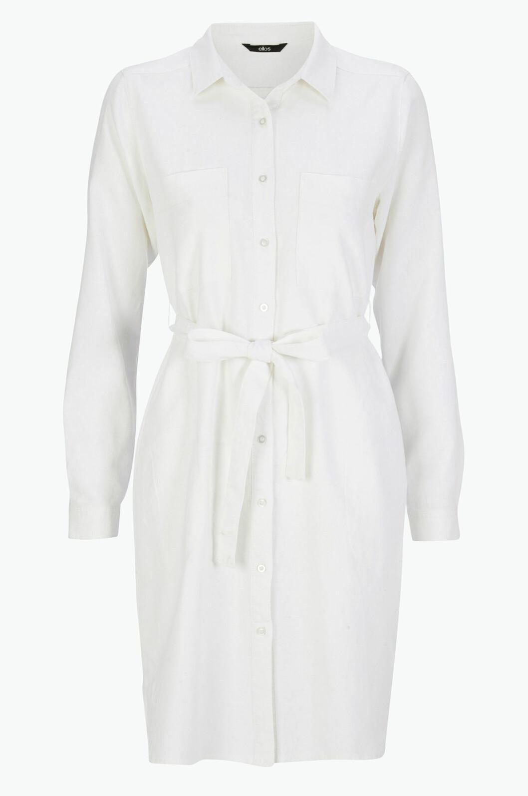 skjortklanning vit