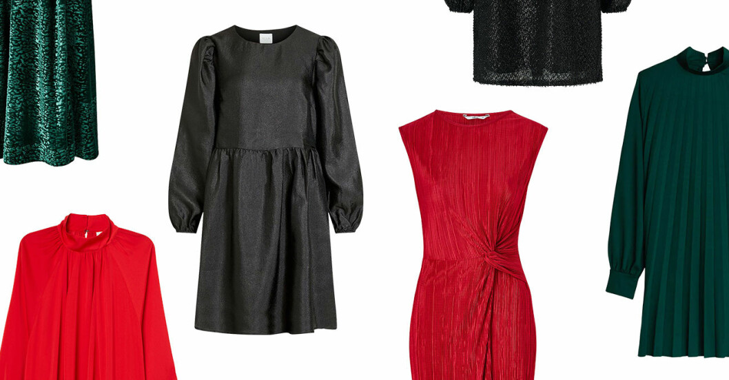 Sköna julklänningar för dam till 2019