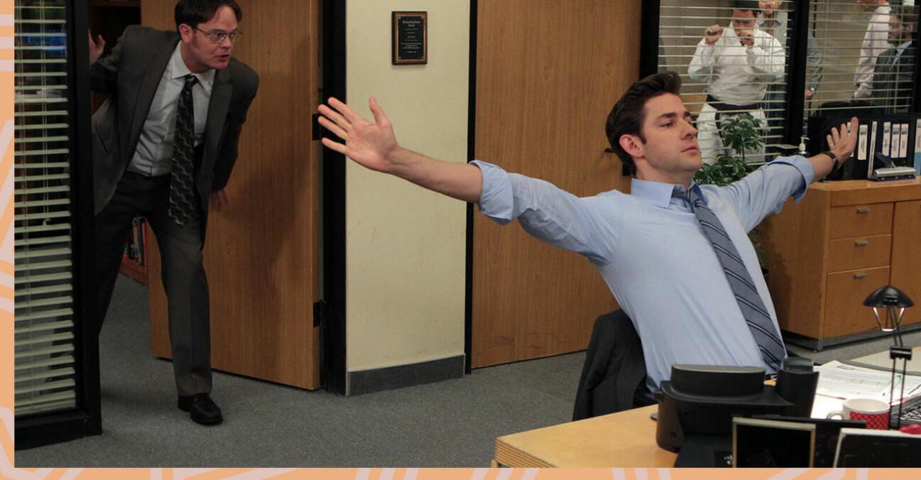 Bild på Jim från The Office.