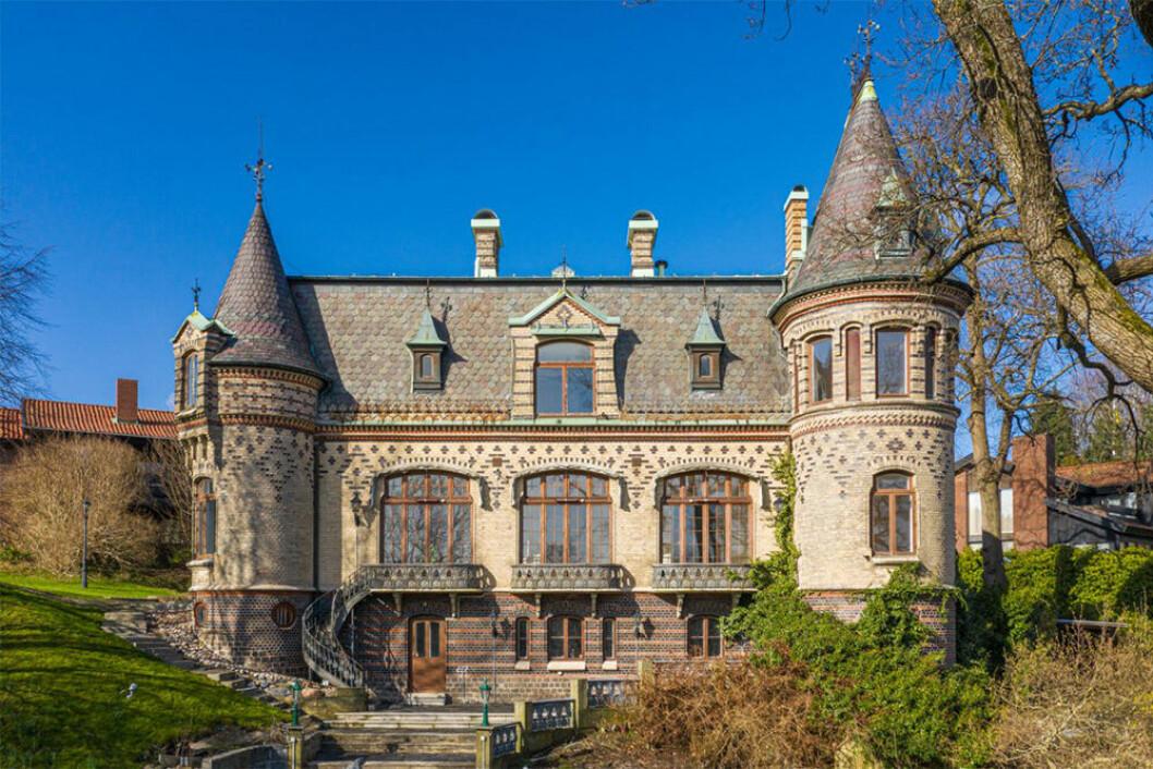 Slott på Danska vägen i Örgryte, Göteborg