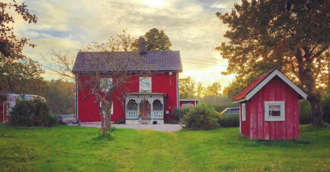 Anrik bondgård i Gamleby, Småland