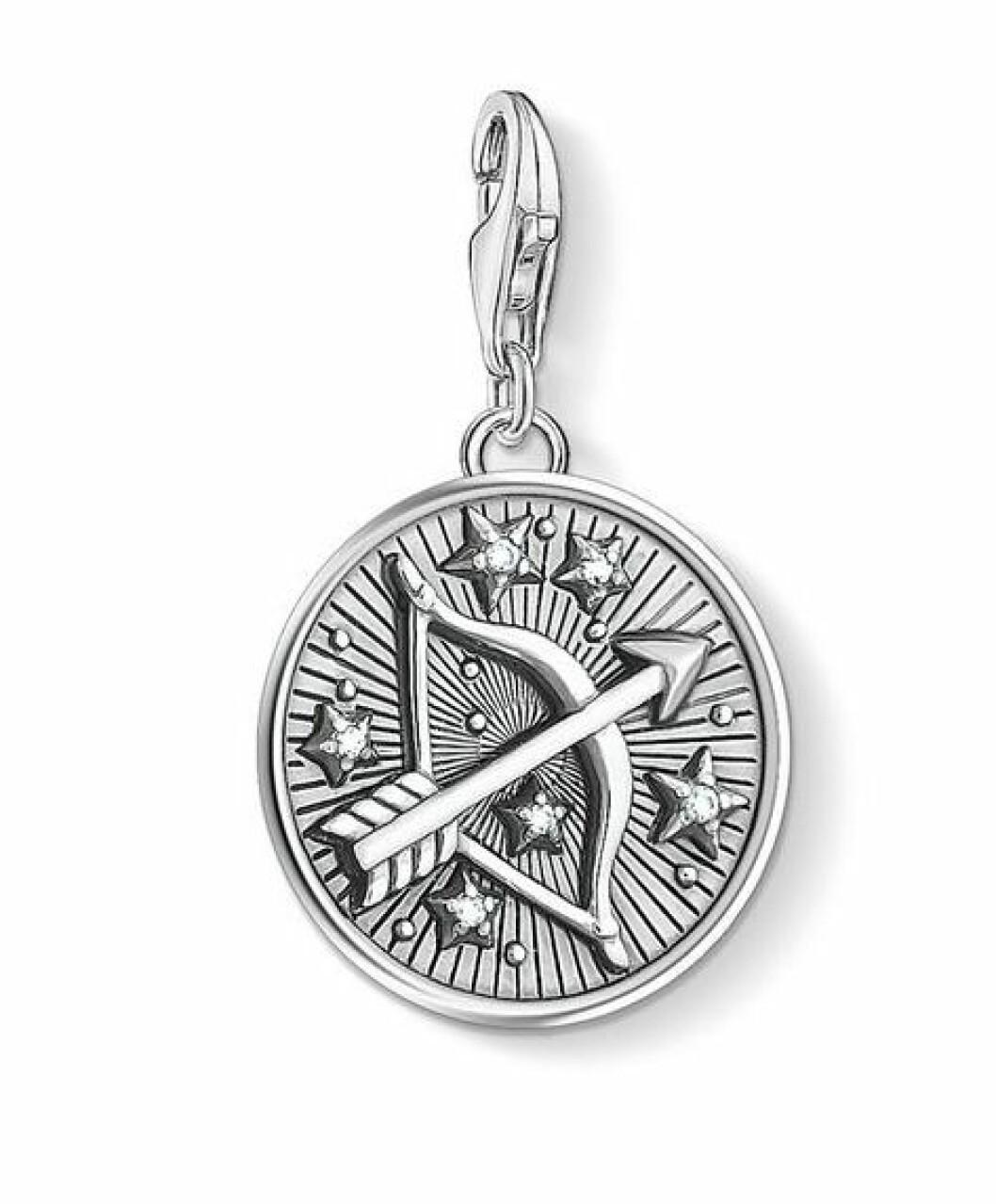 Smycke med stjärntecken skytten