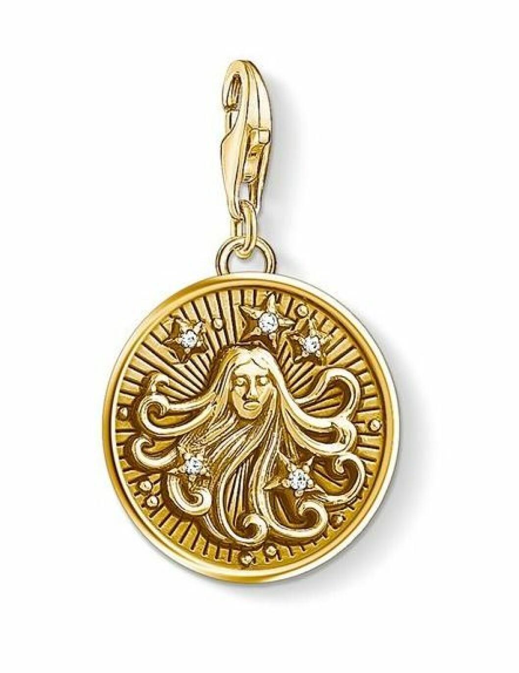 Smycke med stjärntecken jungfru