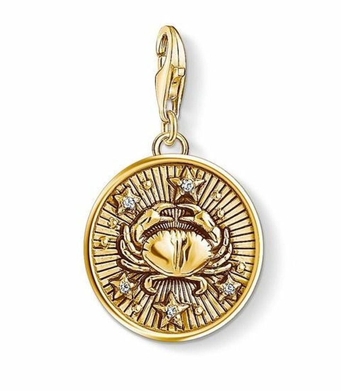 Smycke med stjärntecknet kräftan