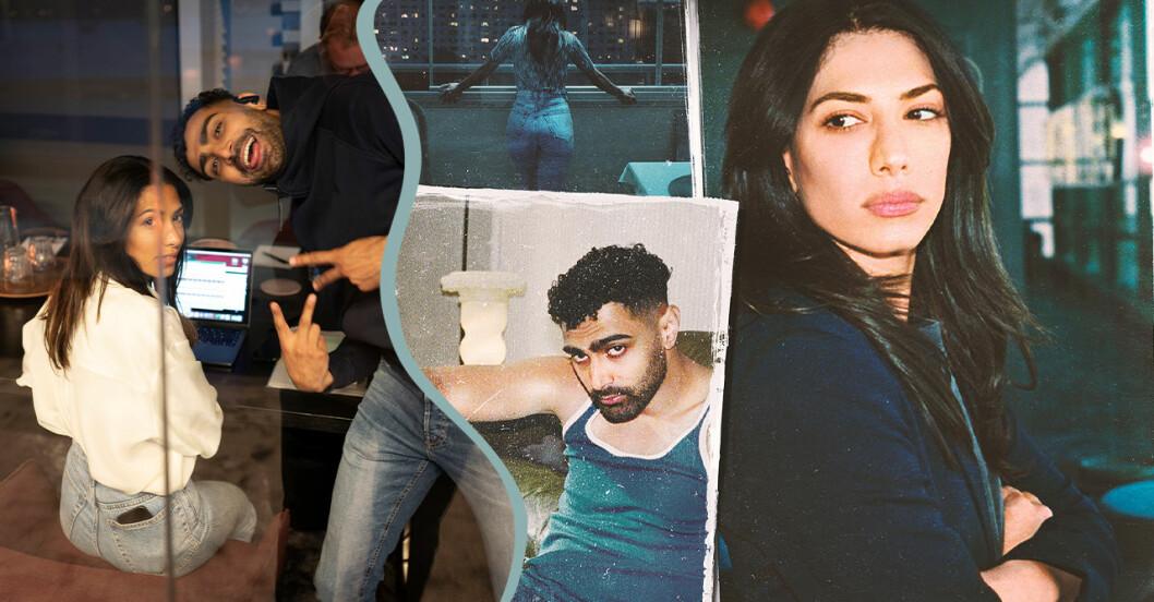 Snabba cash, säsong 2 på Netflix.  Evin Ahmad – Leya Alexander Abdallah – Salim