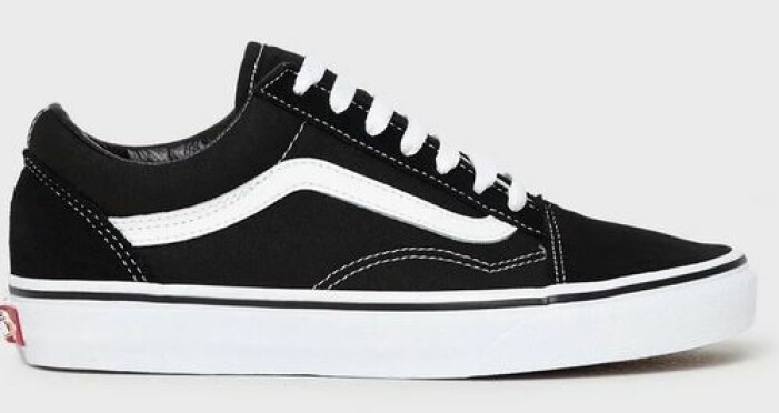 Svarta vans sneakers dam