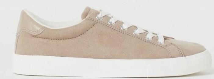 Beige sneakers från H&M
