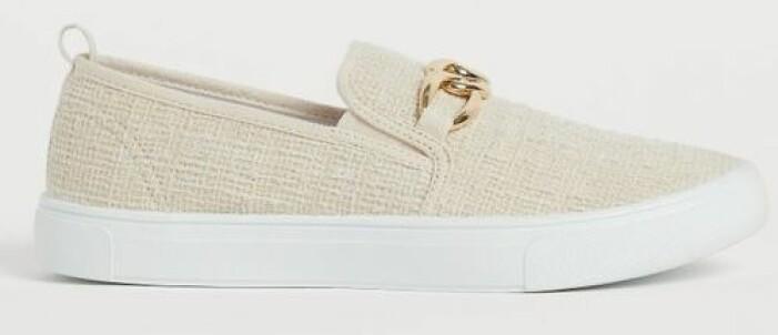 Sneakers i slip in modell från H&M