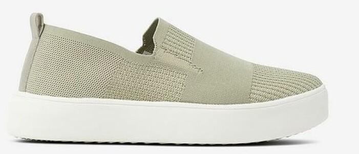 Sneakers i strukturmönstrad textil från Ellos