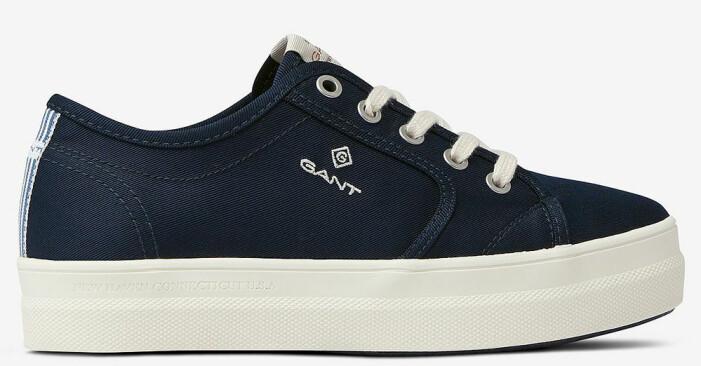 mörkblå sneakers från gant