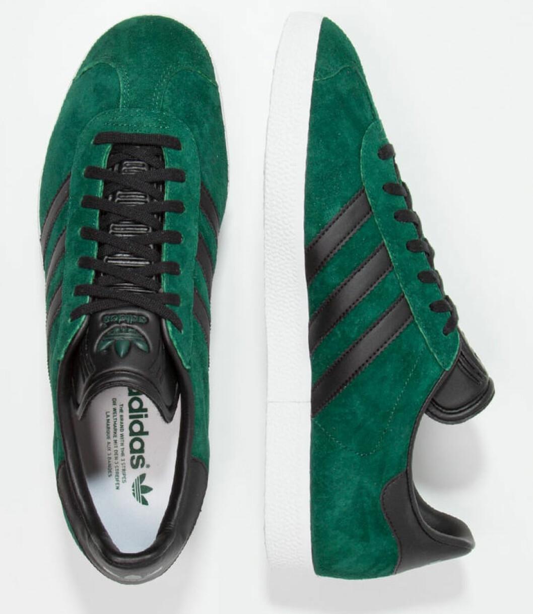 sneakers gazelle gröna