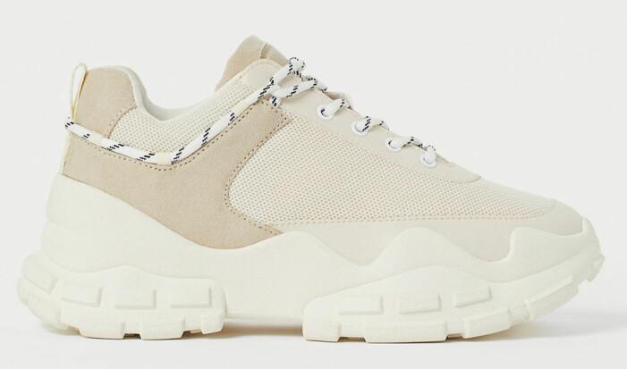 chunky sneakers från H&M
