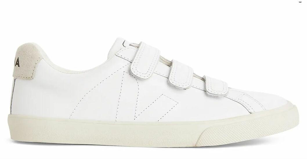 sneakers med kardborrband från Veja