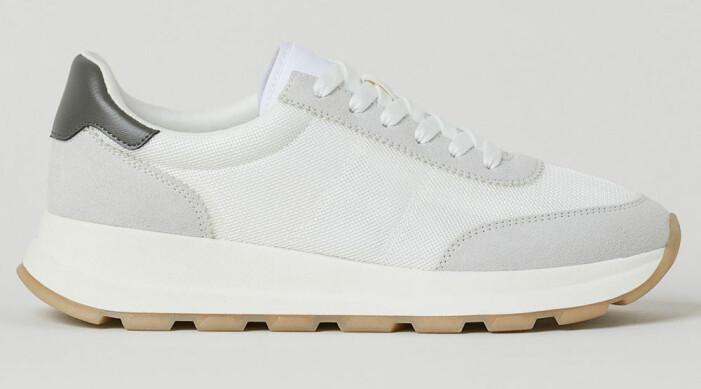 sneakers i mesh från H&M