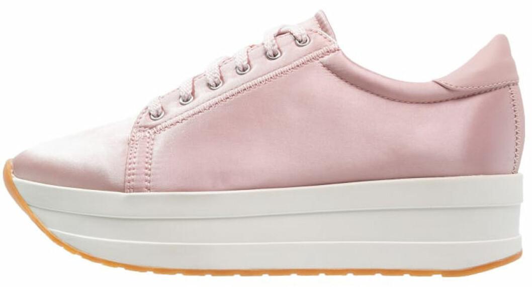 sneakers platå rosa