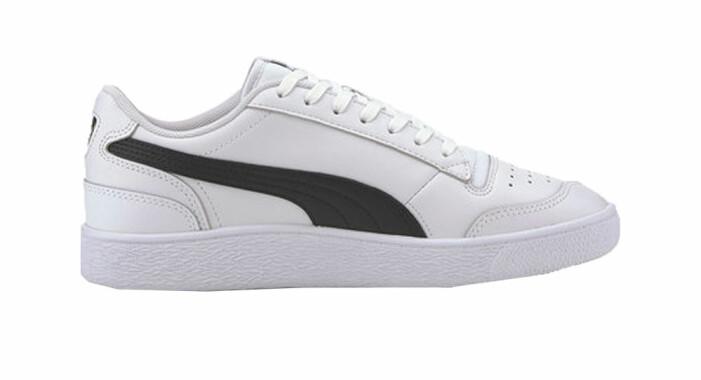 snygga svartvita sneakers i klassisk modell från puma