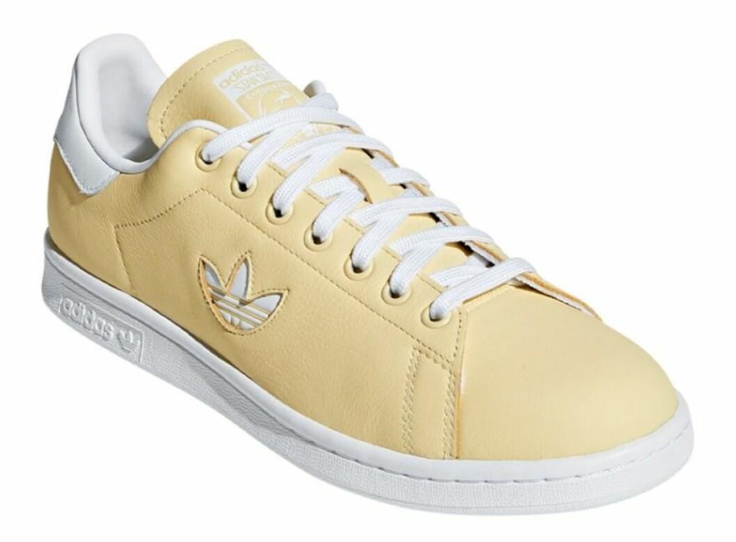 Gula sneakers för dam från Adidas till våren 2019