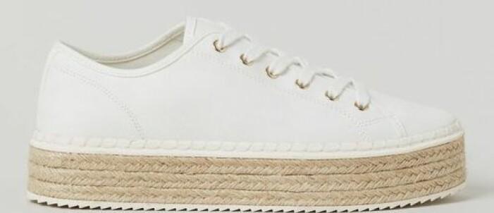 Vita sneakers från H&M