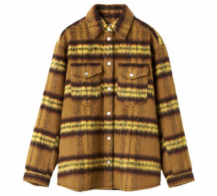 snygg skjortjacka
