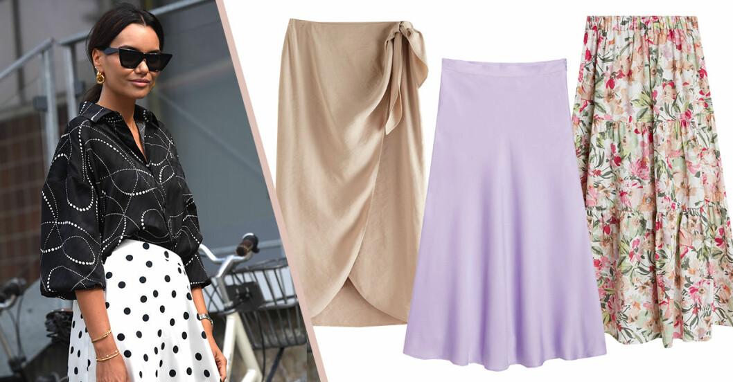 Snygga kjolar för dam till sommaren 2020