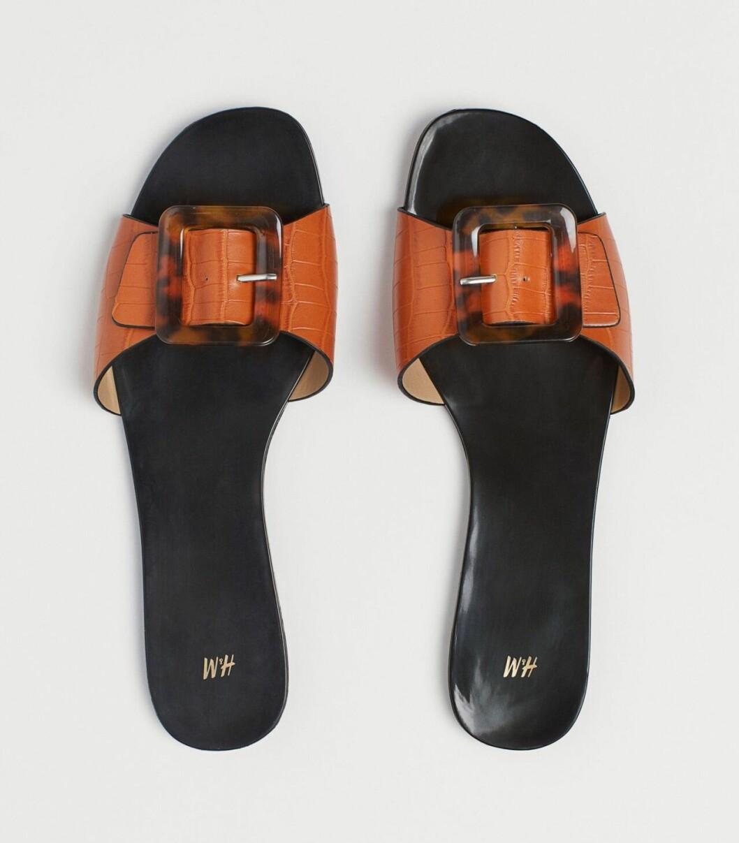 Snygga sandaler till budgetpris med spänne