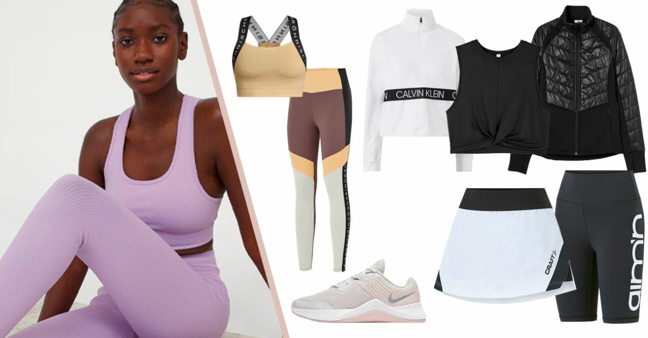 snygga träningskläder 2021
